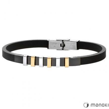 Biżuteria Manoki Kauczukowa bransoletka męska BA487