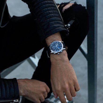 Zegarek Męski Adriatica na pasku A8282.5214CH - Chronograf Swiss Made