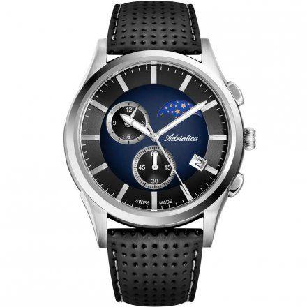 Zegarek Męski Adriatica na pasku A8282.5215CH - Chronograf Swiss Made