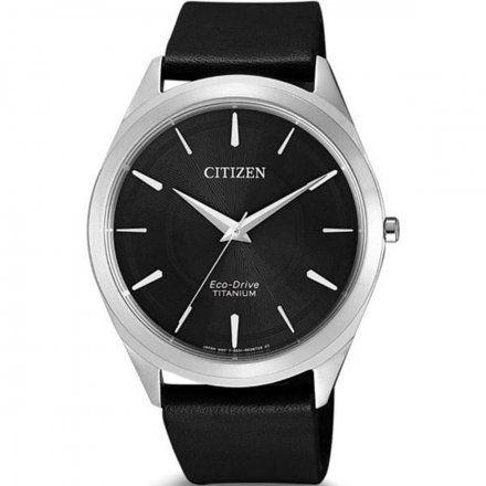 Citizen BJ6520-15E Zegarek Męski na bransolecie Eco Drive Titanium Citizen