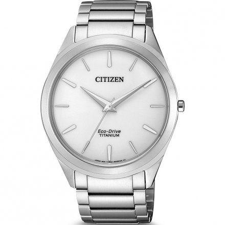Citizen BJ6520-82A Zegarek Męski na bransolecie Eco Drive Titanium Citizen