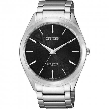 Citizen BJ6520-82E Zegarek Męski na bransolecie Eco Drive Titanium Citizen