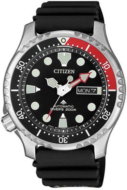 Citizen NY0087-13EE Zegarek Męski na pasku Promaster Diver's Automatic