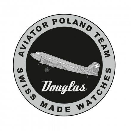 Zegarek Męski Aviator V.3.32.0.244.4 Douglas DC-3