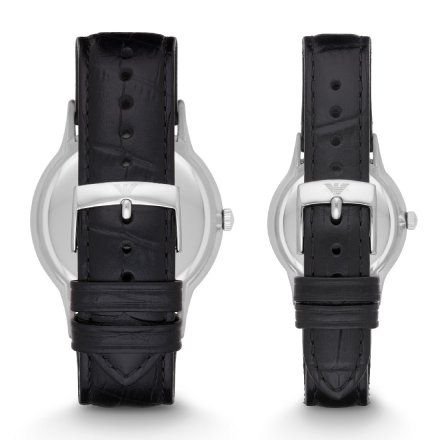 Komplet Emporio Armani AR9113 zegarki męski i damski