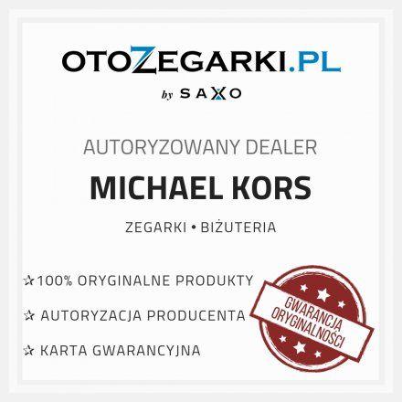Bransoletka biało-złota do zegarka Michael Kors Access Runway MKT5057 18 mm