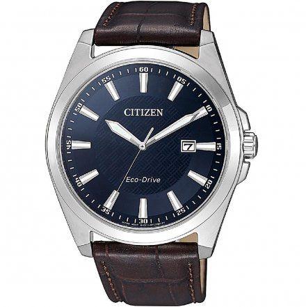Citizen BM7108-22L Zegarek Męski na pasku Citizen Classic Eco-Drive