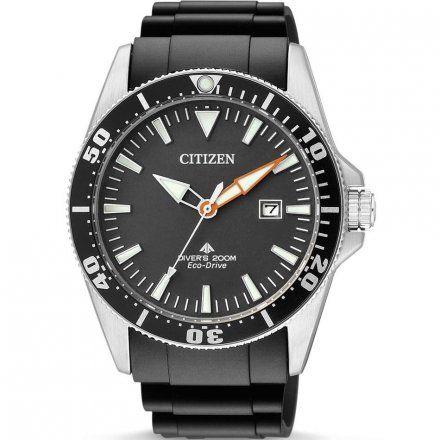 Citizen BN0100-42E Zegarek Męski na pasku Eco Drive Citizen Promaster