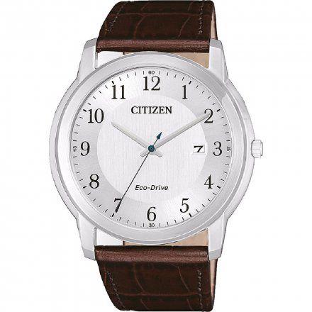 Citizen AW1211-12A Zegarek Męski na pasku Eco Drive Elegance Citizen