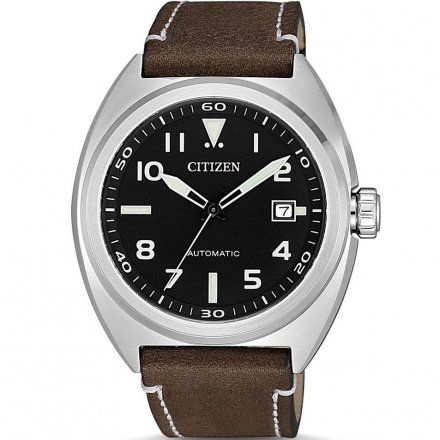 Citizen NJ0100-11E Zegarek Męski na pasku Mechanical Automatic