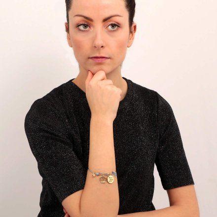 Bransoletka damska z charmsami LA PETITE STORY BANGLE LPS05AQJ04