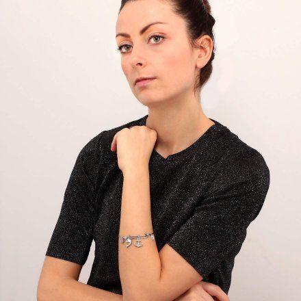 Bransoletka damska z charmsami LA PETITE STORY BANGLE LPS05AQJ11