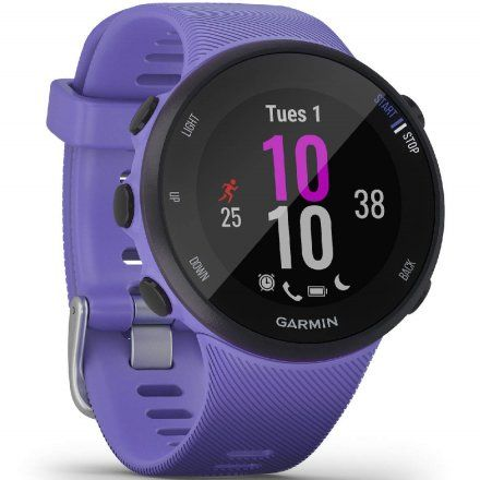 GARMIN Forerunner 45S Fioletowy zegarek do biegania 010-02156-11