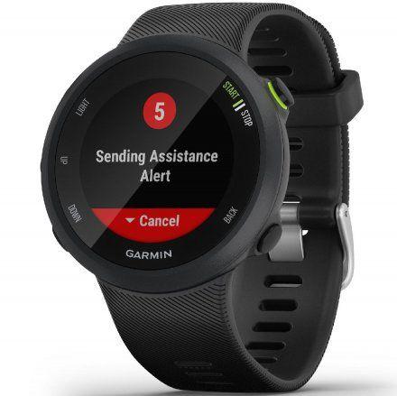 GARMIN Forerunner 45 Czarny zegarek do biegania 010-02156-15