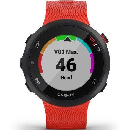 GARMIN Forerunner 45 Ciemnoczerwony zegarek do biegania 010-02156-16