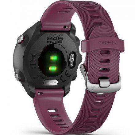 GARMIN Forerunner 245 Bordowy zegarek do biegania 010-02120-11