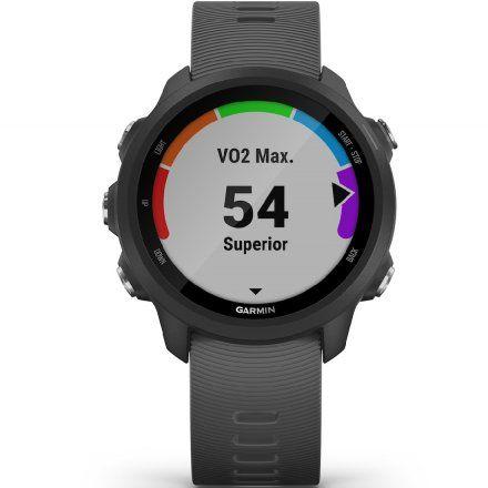 GARMIN Forerunner 245 Szary zegarek do biegania 010-02120-10