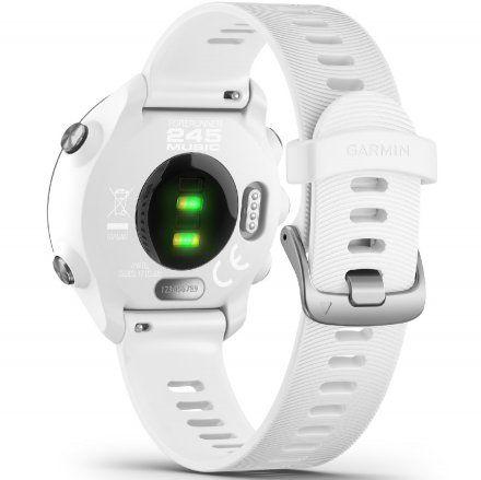 GARMIN Forerunner 245 Music Biały zegarek do biegania 010-02120-31