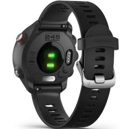 GARMIN Forerunner 245 Music Czarny zegarek do biegania 010-02120-30
