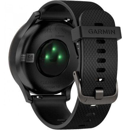 GARMIN Vivomove HR Czarny zegarek hybrydowy 010-01850-21
