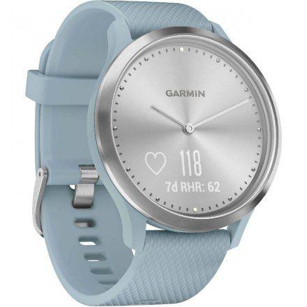GARMIN Vivomove HR Niebieski zegarek hybrydowy 010-01850-08
