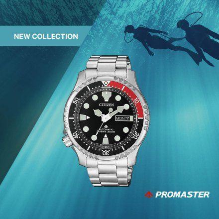 Citizen NY0085-86EE Zegarek Męski na bransolecie Promaster Diver's Automatic