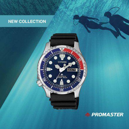 Citizen NY0086-16LE Zegarek Męski na bransolecie Promaster Diver's Automatic