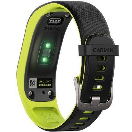 GARMIN monitor aktywności Vivosport Duży czarno-zielony 010-01789-23