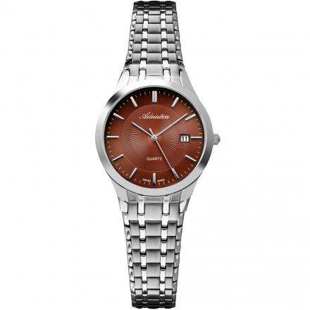 Zegarek Damski Adriatica na bransolecie A3136.511GQ - Zegarek Kwarcowy Swiss Made