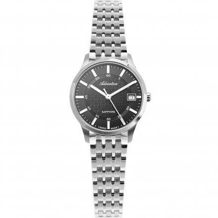 Zegarek Damski Adriatica na bransolecie A3156.5114Q - Zegarek Kwarcowy Swiss Made