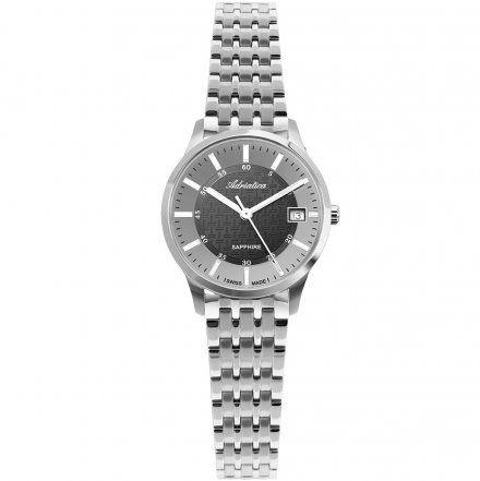 Zegarek Damski Adriatica na bransolecie A3156.5116Q - Zegarek Kwarcowy Swiss Made2