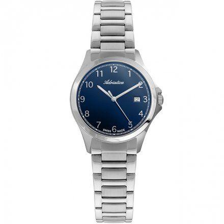 Zegarek Damski Adriatica na bransolecie A3164.5125Q - Zegarek Kwarcowy Swiss Made