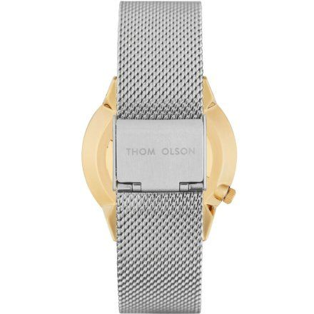 Zegarek Thom Olson CBTO053 Gypset Chisai Silver Mesh