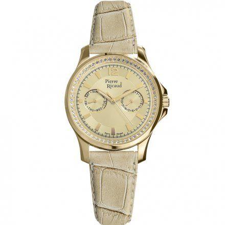 Pierre Ricaud P21049.1V51QFZ2 Zegarek - Niemiecka Jakość
