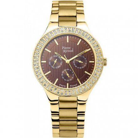 Pierre Ricaud  P21054.111GQFZ Zegarek - Niemiecka Jakość