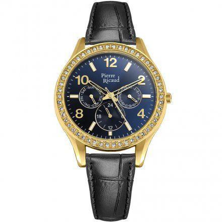 Pierre Ricaud P21069.1N55QFZ Zegarek - Niemiecka Jakość