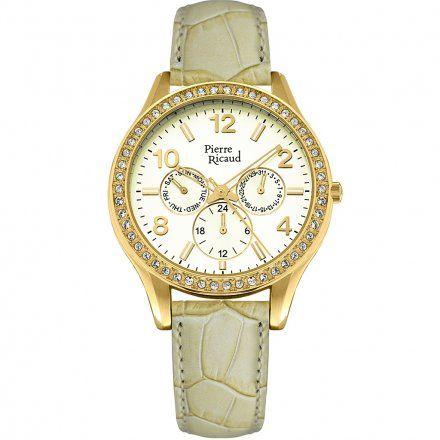 Pierre Ricaud P21069.1V51QFZ Zegarek - Niemiecka Jakość