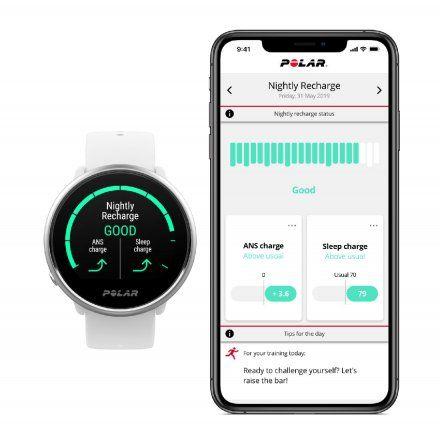 Polar IGNITE Czarny zegarek fitness z GPS