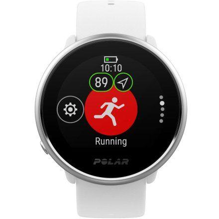 Polar IGNITE Biały zegarek fitness z GPS