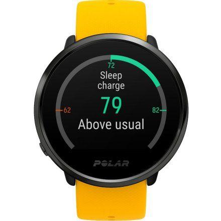 Polar IGNITE Żółty zegarek fitness z GPS