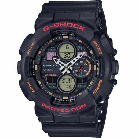 Zegarek Casio GA-140-1A4ER G-Shock GA 140 1A4