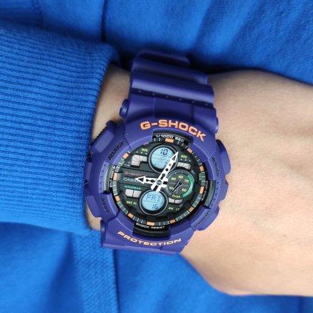 Zegarek Casio GA-140-6AER G-Shock GA 140 6A