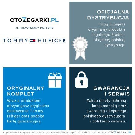 1782162 Zegarek Damski Tommy Hilfiger Project Z TH1782162