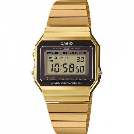 Zegarek Casio A700WEG-9AEF Casio Vintage w stylu Retro A700WEG 9A