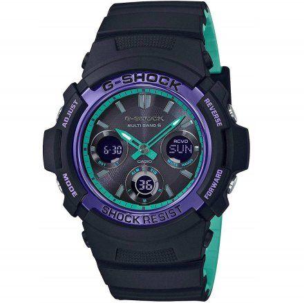 Zegarek Casio AWG-M100SBL-1AER G-Shock AWG M100SBL 1A