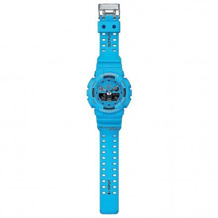 Zegarek Casio GA-100RS-2AER G-Shock GA 100RS 2A
