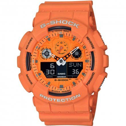 Zegarek Casio GA-100RS-4AER G-Shock GA 100RS 4A