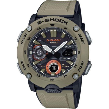 Zegarek Casio GA-2000-5AER G-Shock GA 2000 5A