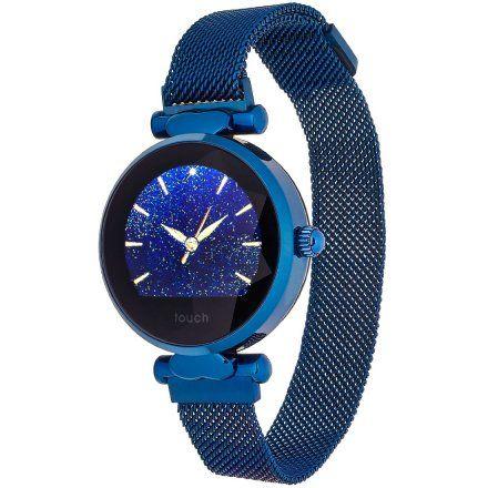 Smartwatch Garett Women Lisa niebieski stalowy