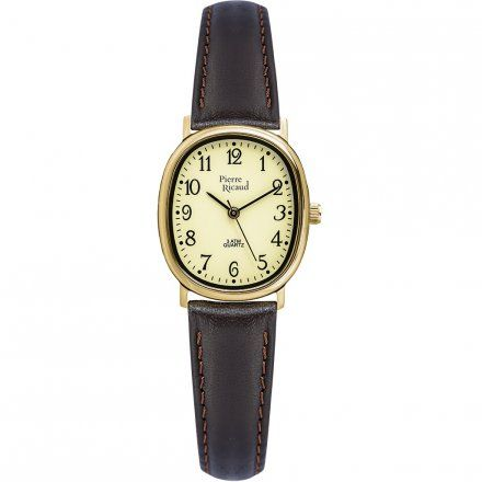 Pierre Ricaud P25915.1221Q Zegarek - Niemiecka Jakość